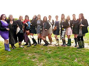 Posh Frocks and Wellies